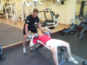 Supervised Bench Press Training