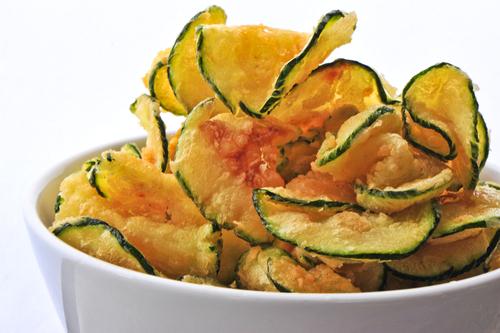 Baked Zucchini Crisps