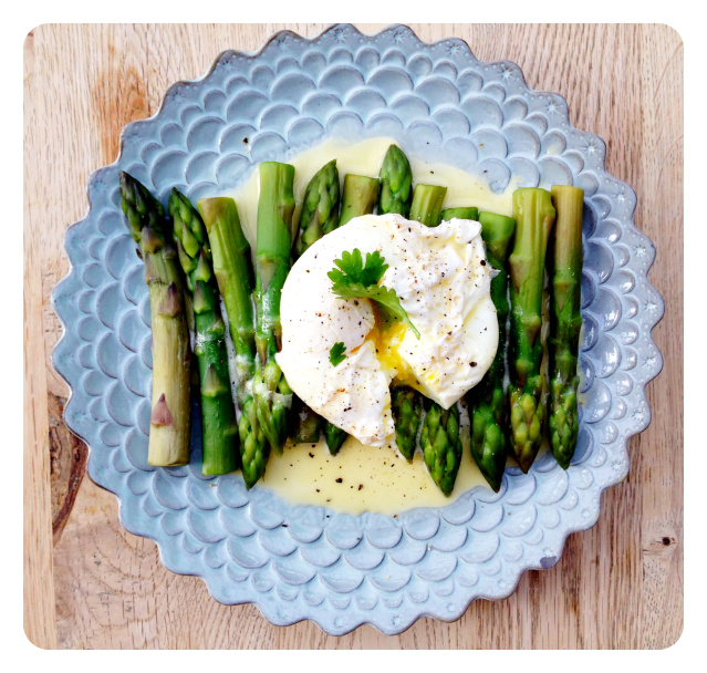 asparagus benedict