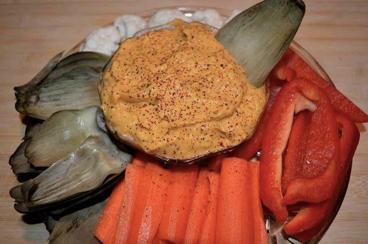 bean-free Paleo hummus