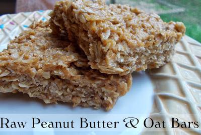 peanut oat bars
